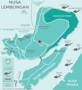 353 Degrees North, The Lembongan Traveller, Nusa Lembongan, Bali