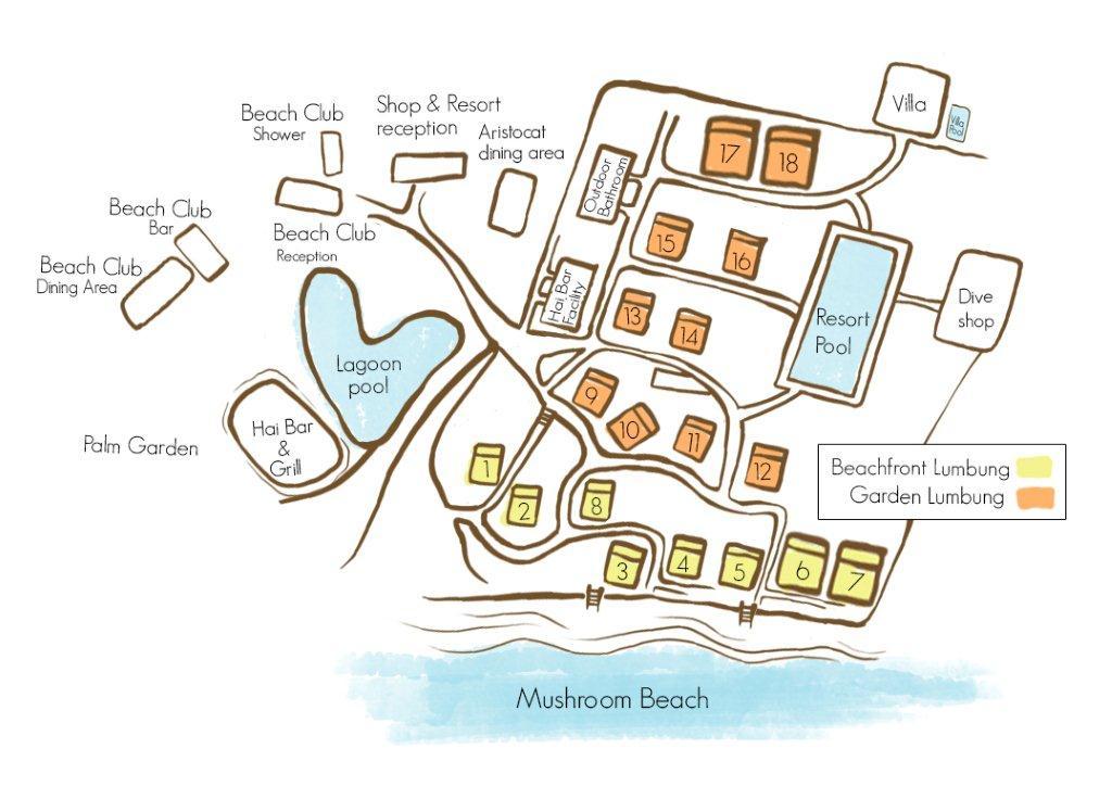 Hai Tide Beach Resort, The Lembongan Traveller, Nusa Lembongan Resort, Lembongan Resort, Lembongan accommodation, Lembongan Hotels, Lembongan Villas
