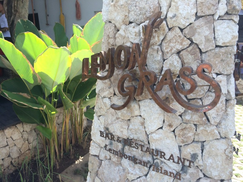 Lemon Grass, The Lembongan Traveller