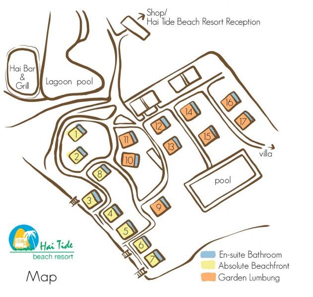 Hai Tide Resort Map