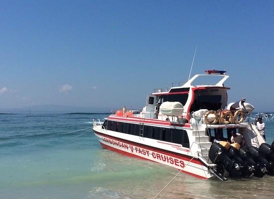 Boat Transfers, The Lembongan Traveller, Bali, Nusa Lembongan, Rocky Fast Cruises