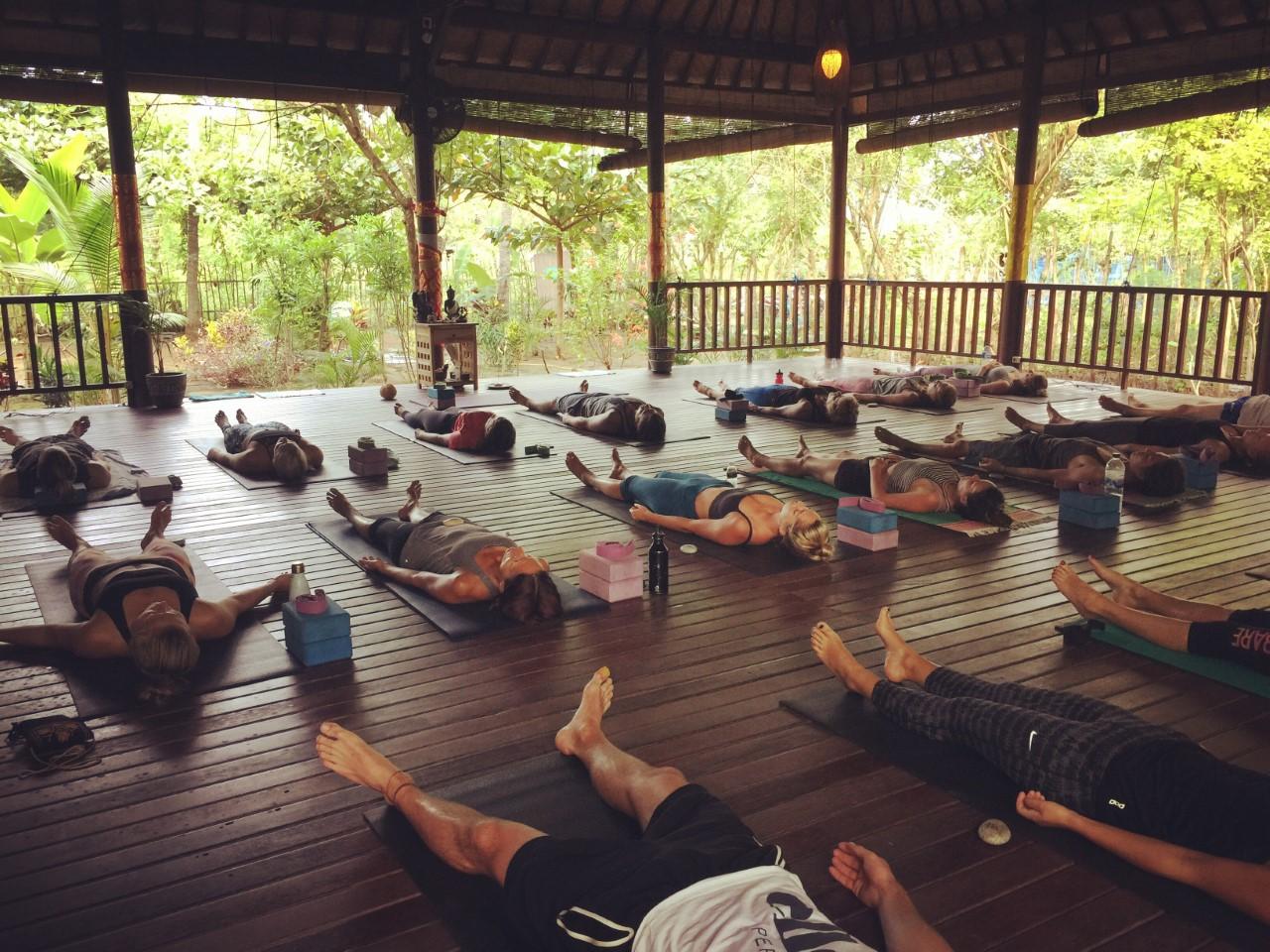 Serenity Yoga, The Lembongan Traveller, Yoga, Lembongan, Nusa Lembongan