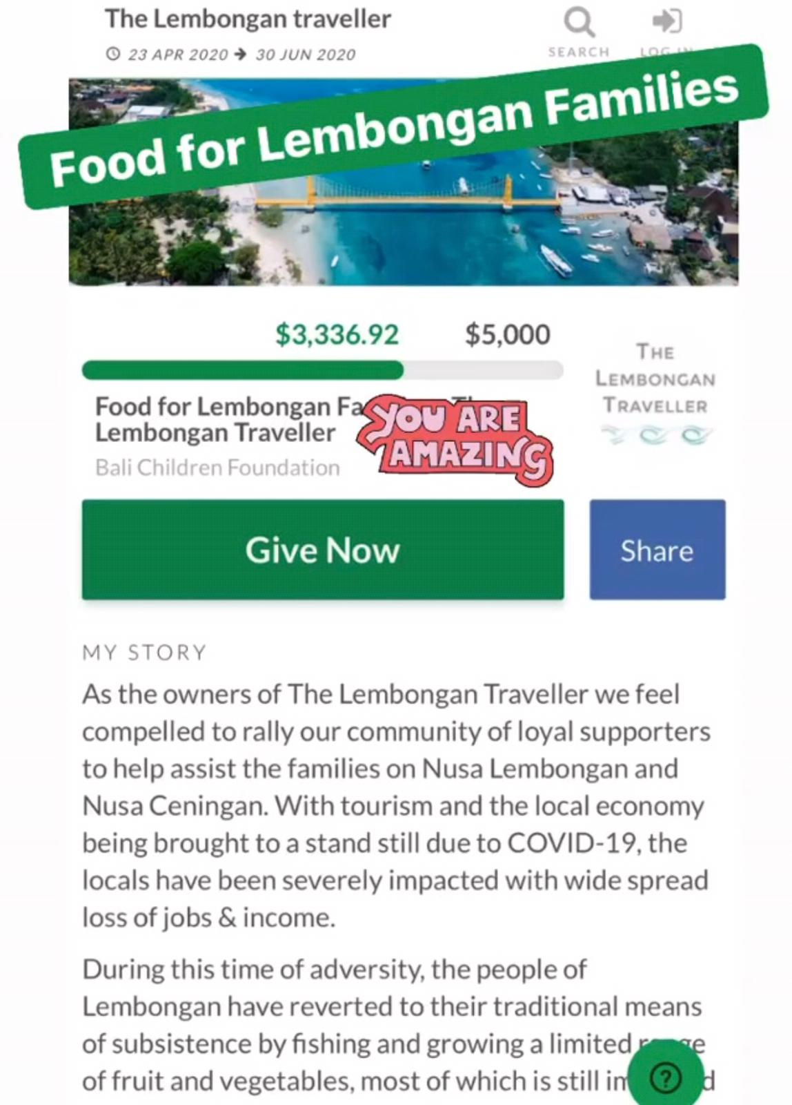 Fundraiser, Lembongan Hotels, Lembongan Resorts, Lembongan Bungalows, Lembongan Villas, The Lembongan Traveller, Nusa Lembongan Hotels, Nusa Lembongan Resorts, Nusa Lembongan Bungalows, Nusa Lembongan Villas,